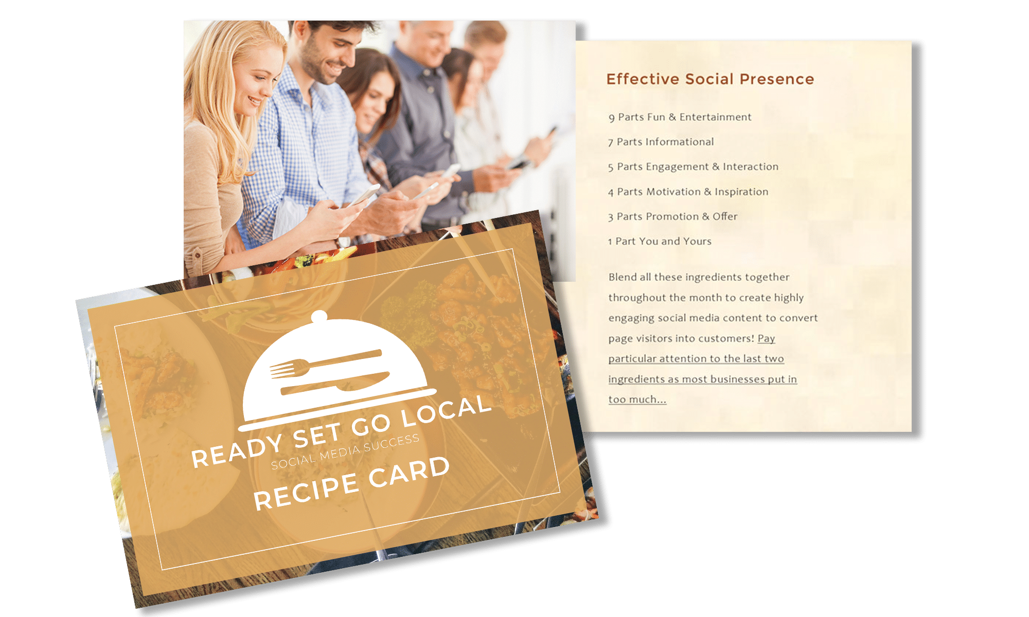 The Perfect Recipe for Social Media Success